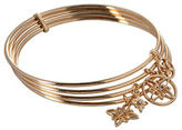 BCBGeneration Butter Flower 12K Yellow Goldplated Stackable Bangles