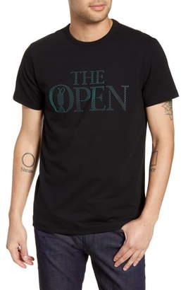 BOSS British Open Regular Fit Graphic T-Shirt