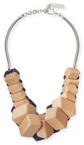 Lafayette 148 New York Cubist Reversible Statement Necklace