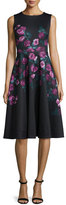 Erin Fetherston Sleeveless Floral-Print Fit-&-Flare Dress
