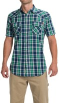 Dakota Grizzly Max Plaid Shirt - Snap Front, Short Sleeve (For Men)