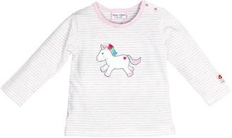 Salt&Pepper Salt and Pepper Baby Girls' BG Longsleeve Stripe Einh OCS T-Shirt