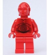 Lego Star WarsTM R3PO figure - Red C3PO - from 7879