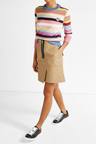 Kenzo Striped Cotton-Blend Pullover