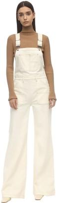 Frame Cotton Denim Overalls