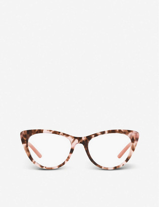 Prada PR 05XV Millenials acetate cat-eye glasses