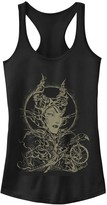 Disney Juniors' Disney's Sleeping Beauty Maleficent Crow Branches Tank Top
