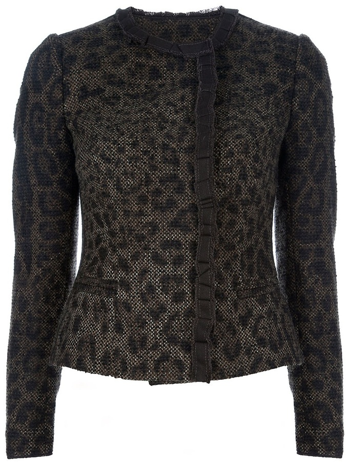 Dolce & Gabbana Leopard print jacket