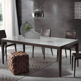 Cappellini Pacini e Dominique Dining Table with Laminam Top - Tobacco