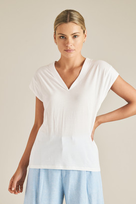 Seed Heritage Pima Cotton V Neck Tee
