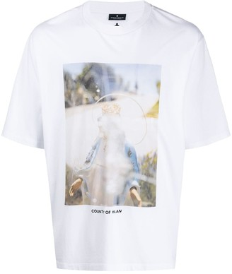 Marcelo Burlon County of Milan Holy photograph print T-shirt