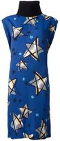 Marni star print dress - women - Cotton/Viscose - 38