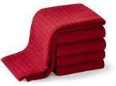 Williams-Sonoma Williams Sonoma Campus Towels, Red, Set of 5