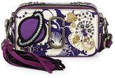 Marc Jacobs Tapestry Snapshot Crossbody Bag, Purple