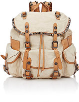 Campomaggi Women's Studded Backpack-TAN