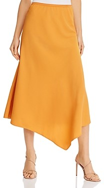 French Connection Ezmay Drape Asymmetric Skirt