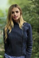 Shabby Apple Radley Zipper Jacket Blue