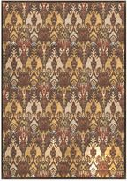 Bed Bath & Beyond Radiance Ikat 6-Foot 6-Inch x 9-Foot 10-Inch Area Rug in Brown