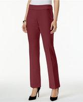 Alfani Straight Leg Pants, Only at Macy's