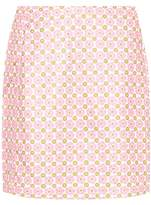 Tory Sport Mayfair printed golf skirt