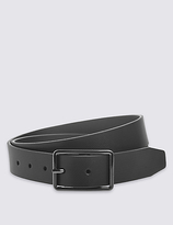 Marks And Spencer Marks And Spencer Leather Block Edge Buckle Belt