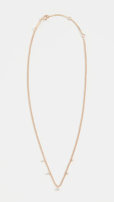 Zoë Chicco 14k Gold Small Curb Chain Necklace