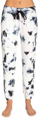 PJ Salvage Tie-Dyed Cropped French Terry Pants