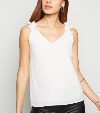 New Look Cameo Rose Frill Strap Cami