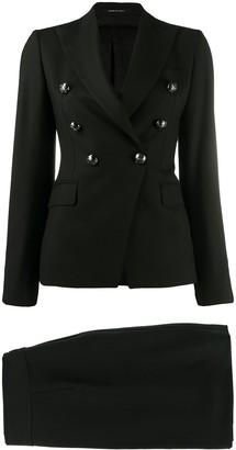 Tagliatore Skirt And Jacket Suit Set