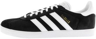Adidas Gazelle Black/ White Mens   Shop