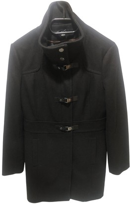 Kenneth Cole Black Wool Coat for Women