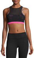 Vimmia Tempest Rose Acro Layered Sports Bra, Multicolor