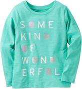 Carter's Girl's 'Some Kind Of Wonderful' Long Sleeve Tee