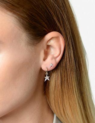 The Alkemistry 14ct Rose Gold Diamond Earring
