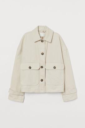 H&M Boxy Corduroy Jacket