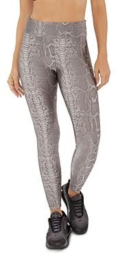 Koral Snakeskin Print Leggings