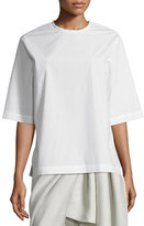 Joseph Dilys Oversized Stretch Poplin Shirt, White