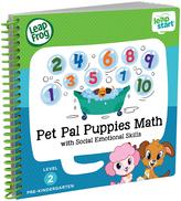 Leapfrog Leapstart Pet Pal Puppies Math Spiral-Bound Book