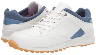 Ecco Street Retro Hydromax(r) (White) Women's Golf Shoes