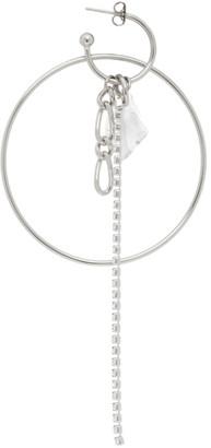 Justine Clenquet Silver Kate Single Earring