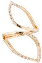 Catherine Malandrino Diamond Off Geometrics Ring