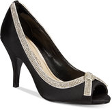 Caparros Glow Peep-Toe Evening Pumps Women's Shoes