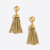 J.Crew Factory Golden drop tassel earring