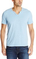Mod-o-doc Men's Topanga Short Sleeve Vintage Fit Notch V-Neck Slub Jersey Tee