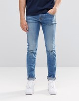 Pepe Jeans Pepe Hatch Slim Jeans F70 Ice Shock Wash