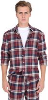 Faith Connexion Plaid Brushed Cotton Flannel Shirt