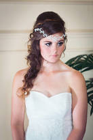 Proenza Schouler With Love Anya, Crystal And Pearl Bohemian Style Bridal Browband