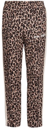 Palm Angels Leopard-Print Track Pants