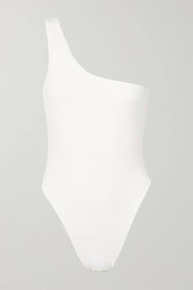 Myra - Rhodes One-shoulder Swimsuit - White