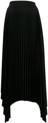 Joseph Pleated Asymmetric Skirt